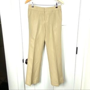 Banana Republic 0 viscose/linen blend trousers